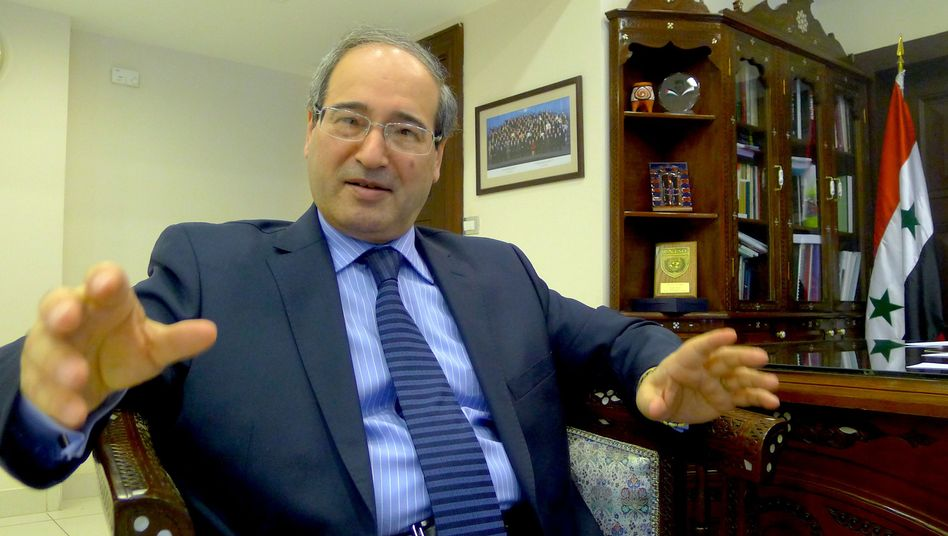 """Syria's Deputy Foreign Minister Faisal al Mekdad: """"What more do these so-called revolutionaries actually want?"""""""