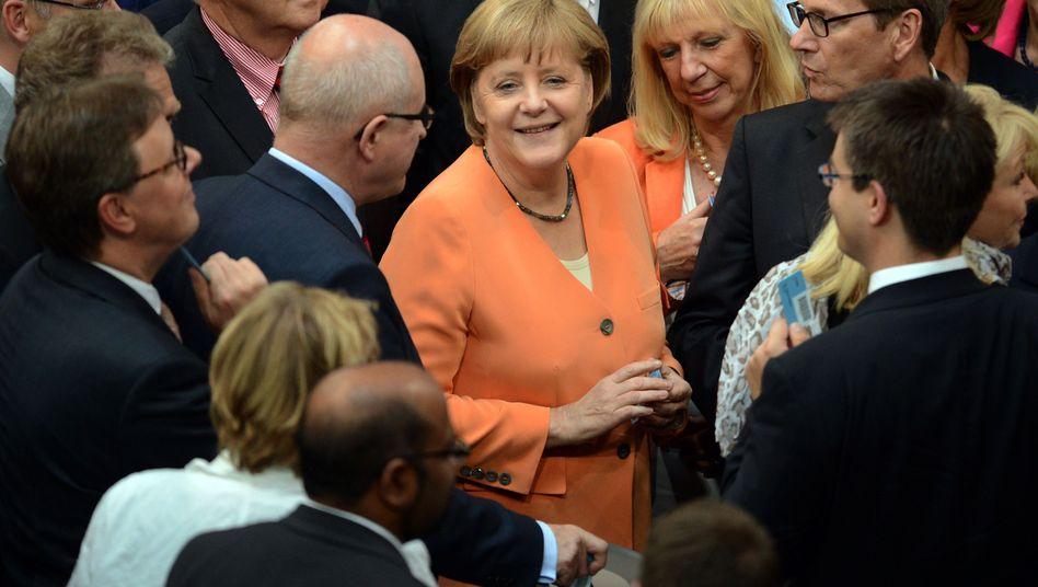 Ja im Bundestag zur Spanien-Hilfe: NachBankenrettung verreist