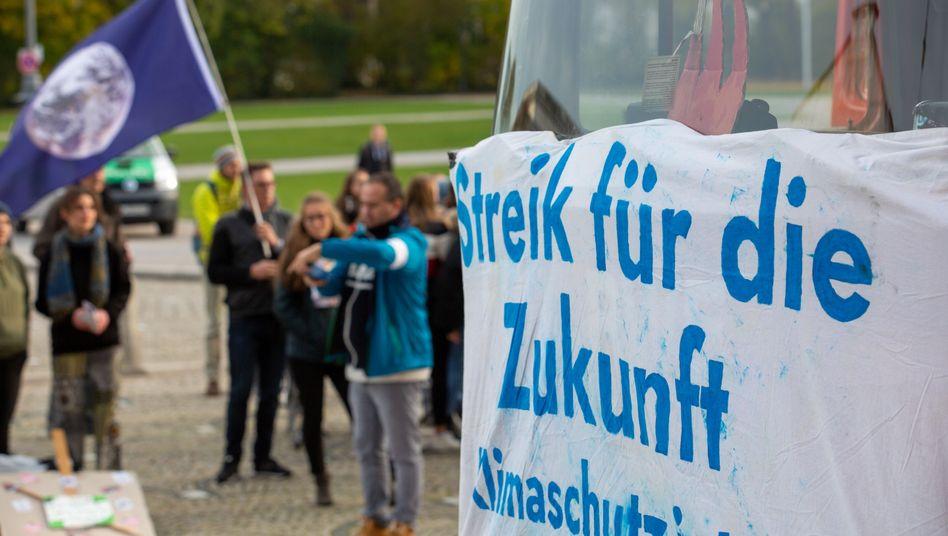 """Demo von """"Fridays for Future"""" in München (November 2019)"""