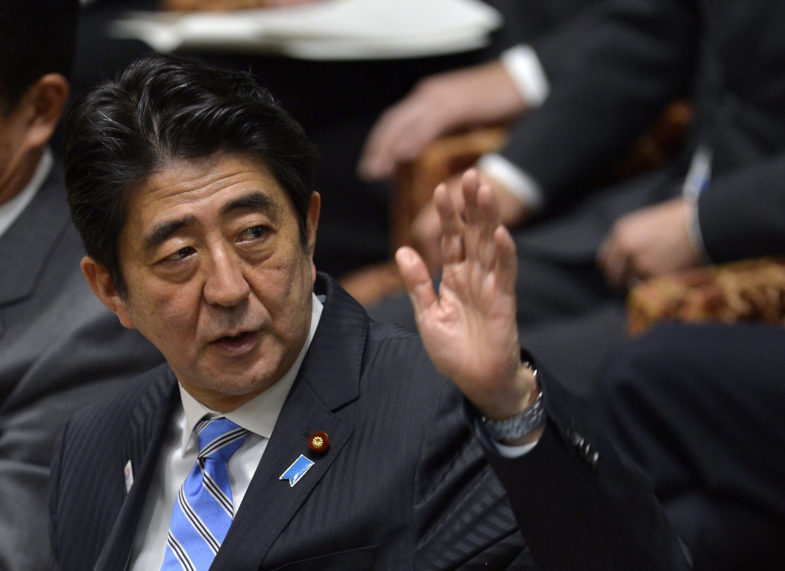 SPIN 7/2013 p63 Schlachtfeld / Shinzo Abe