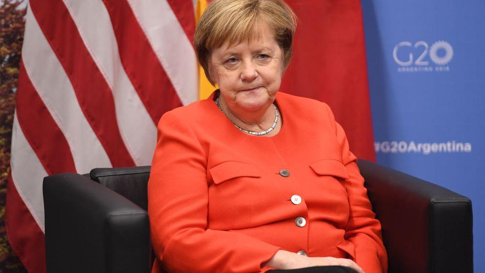 Merkel beim G20-Gipfel