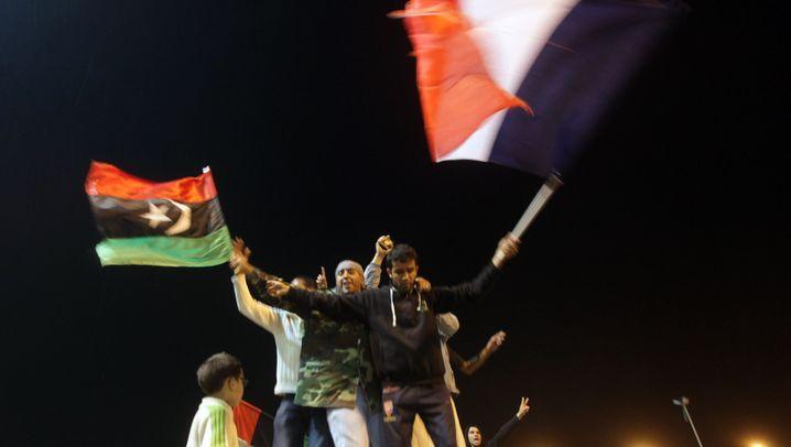 Nach Uno-Resolution: Bengasi jubelt, Gaddafi droht