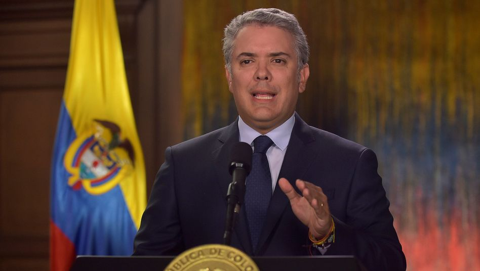Kolumbiens Präsident Iván Duque