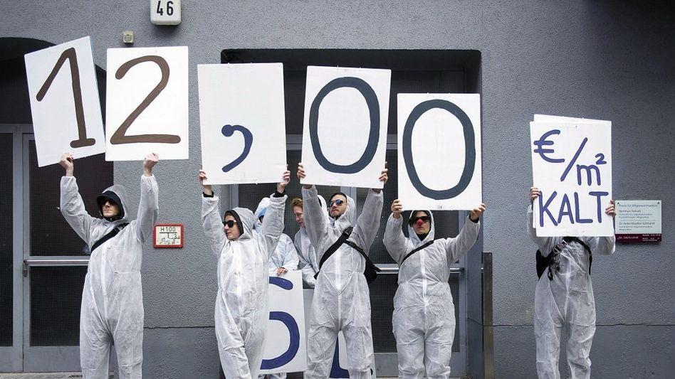 Protestierende gegen hohe Mieten in Berlin: Unabsehbare Folgen?