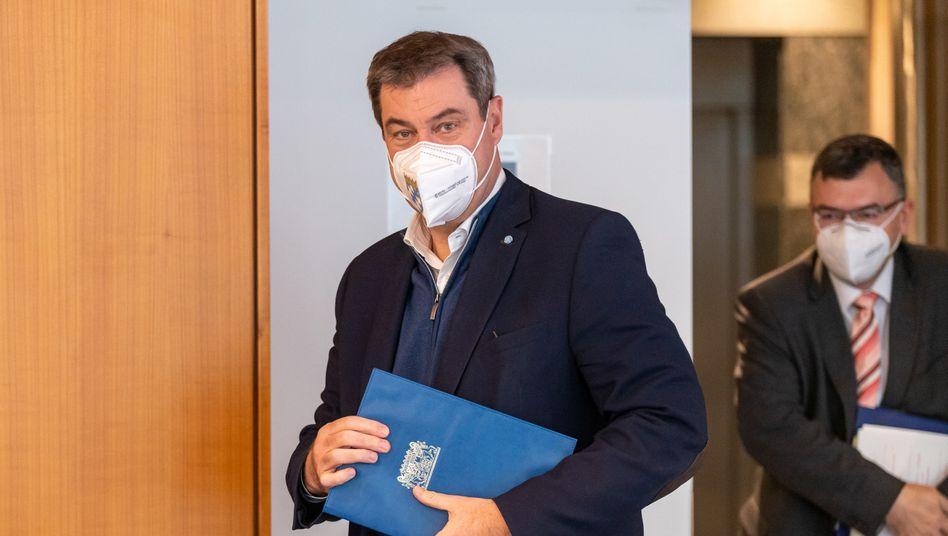 Bayerns Ministerpräsident Söder: »ethische Kapitulation«