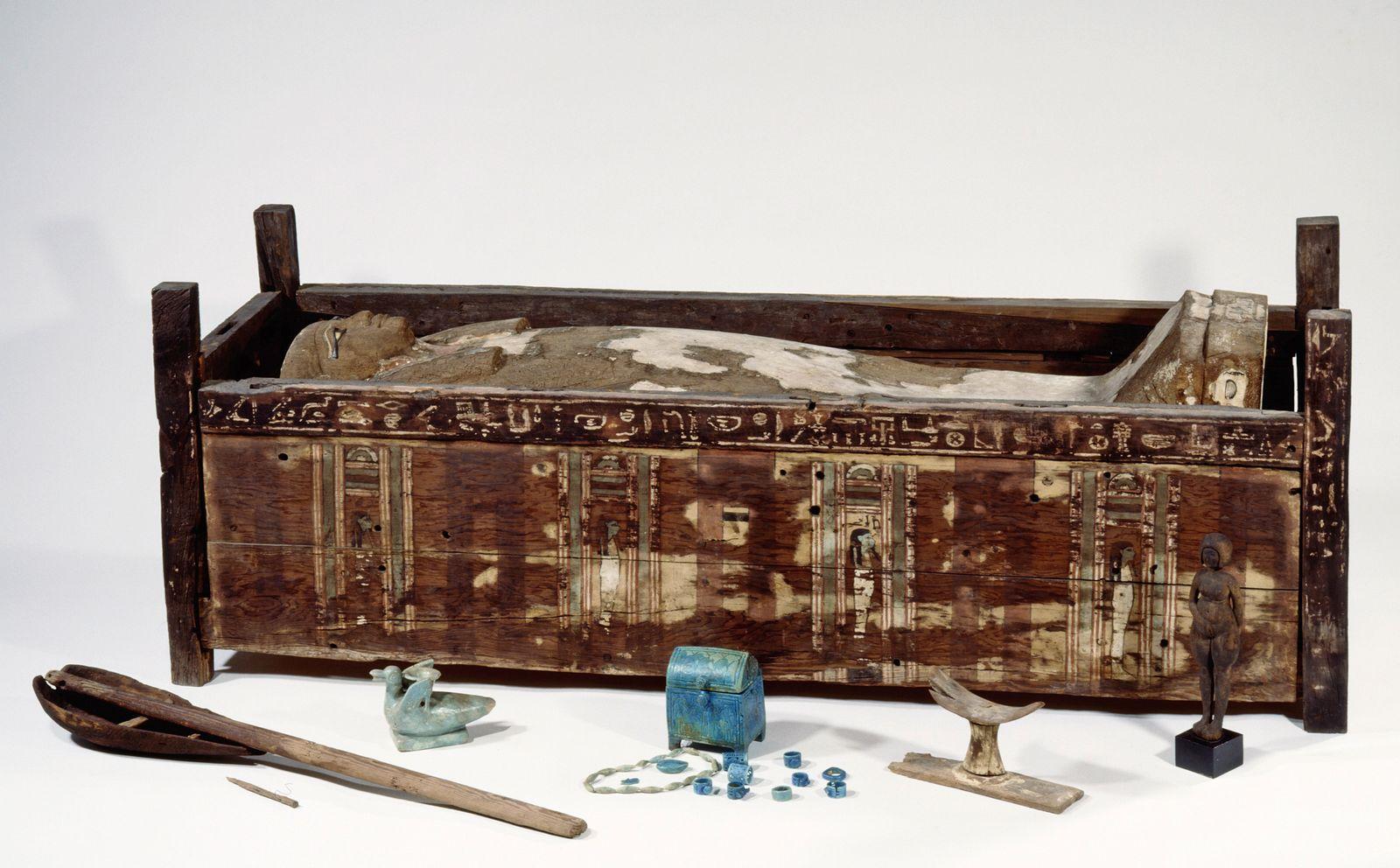 SPERRFRIST 30. Mai 2017 17:00 Uhr EINMALIGE VERWENDUNG Mumien-Genome / Ägypten