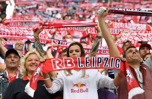 RB Leipzig Fans im Stadion (Archivbild)