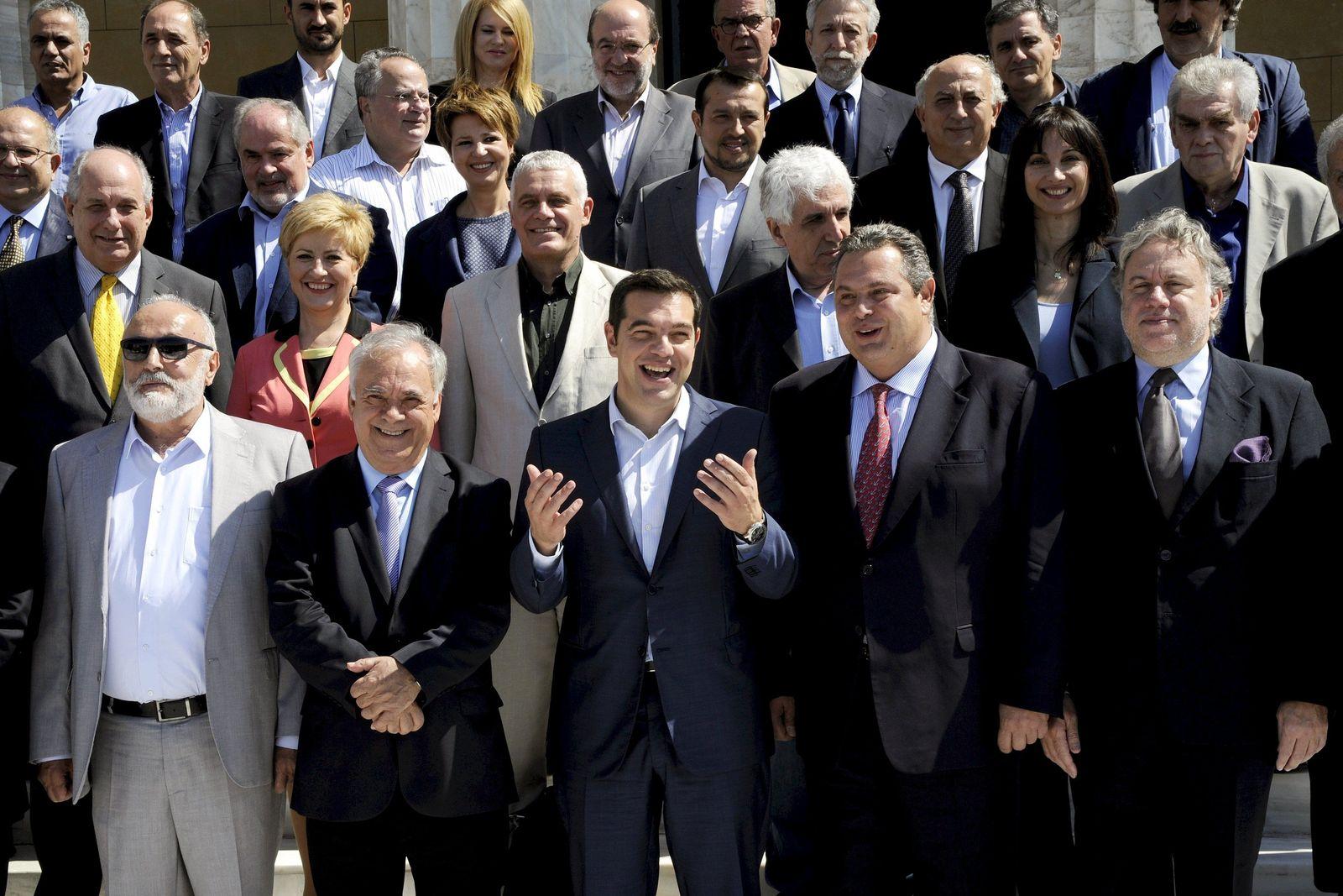 griechenland tsipras kabinett
