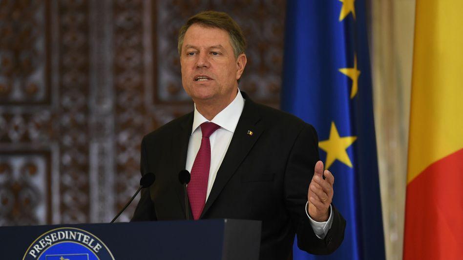 Rumäniens Staatschef Klaus Johannis