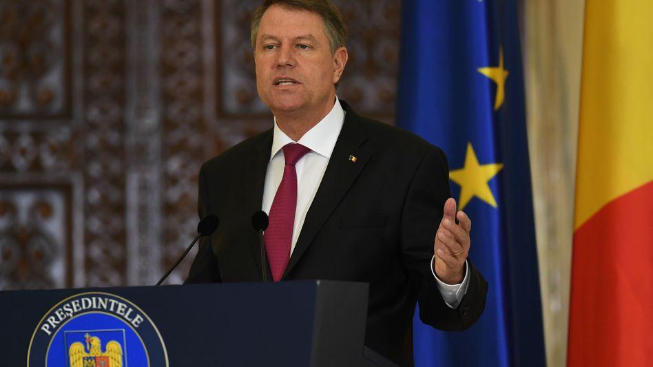 Rumäniens Präsident Klaus Iohannis