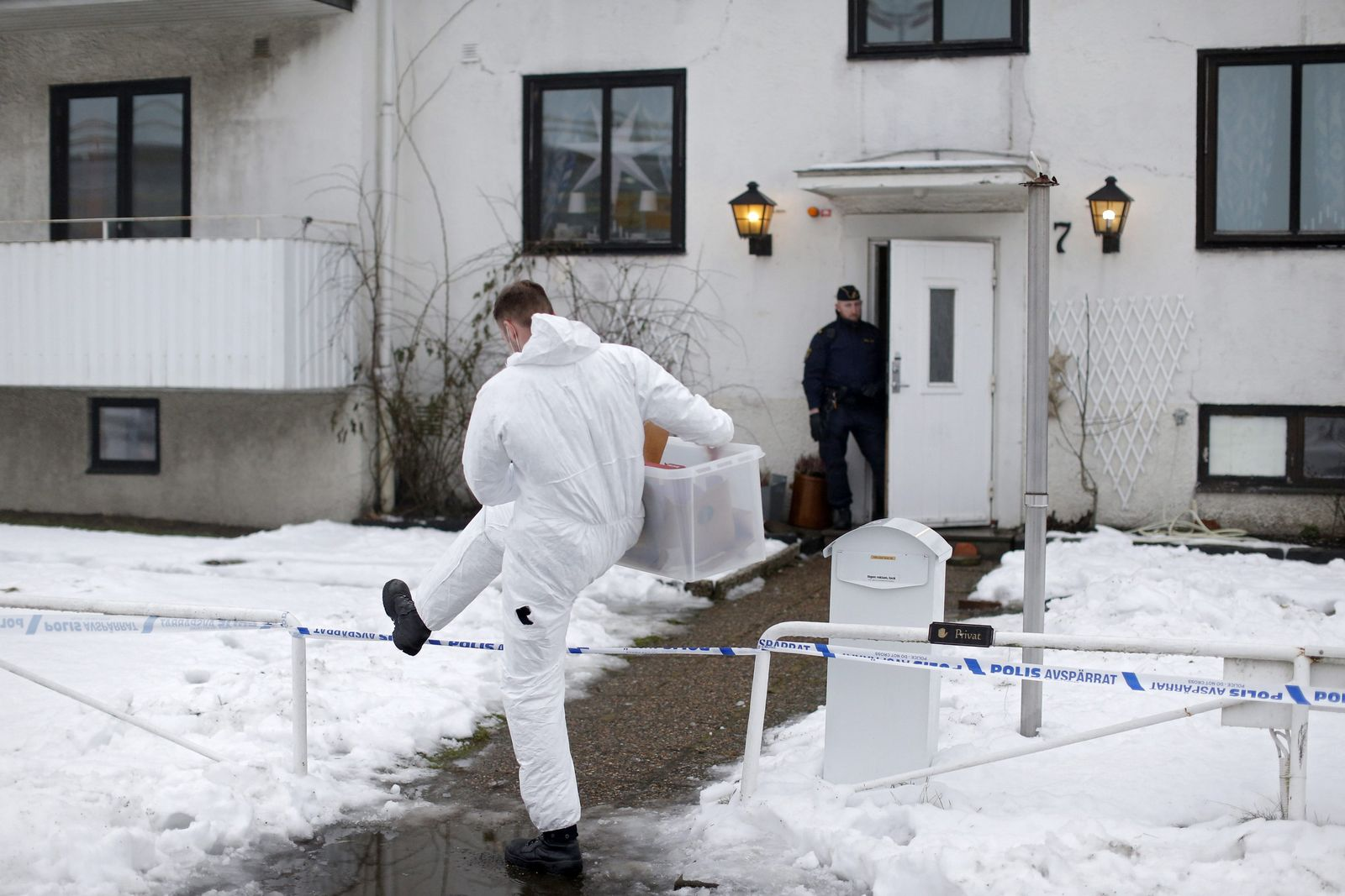 Schweden Flüchtlingsheim