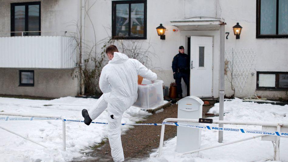 Tatort bei Göteborg: Die Polizei ermittelt