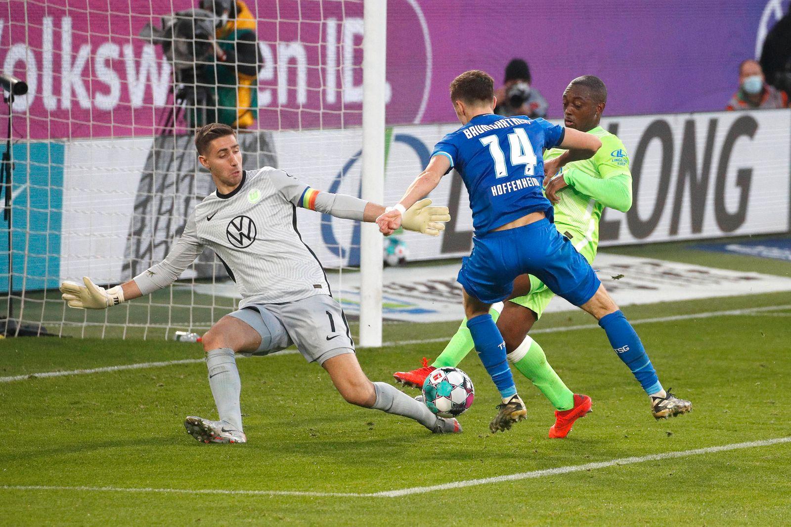 08.11.2020, Volkswagen Arena, Wolfsburg, Ligaspiel, 1. Bundesliga, VfL Wolfsburg vs TSG 1899 Hoffenheim, im Bild Koen C