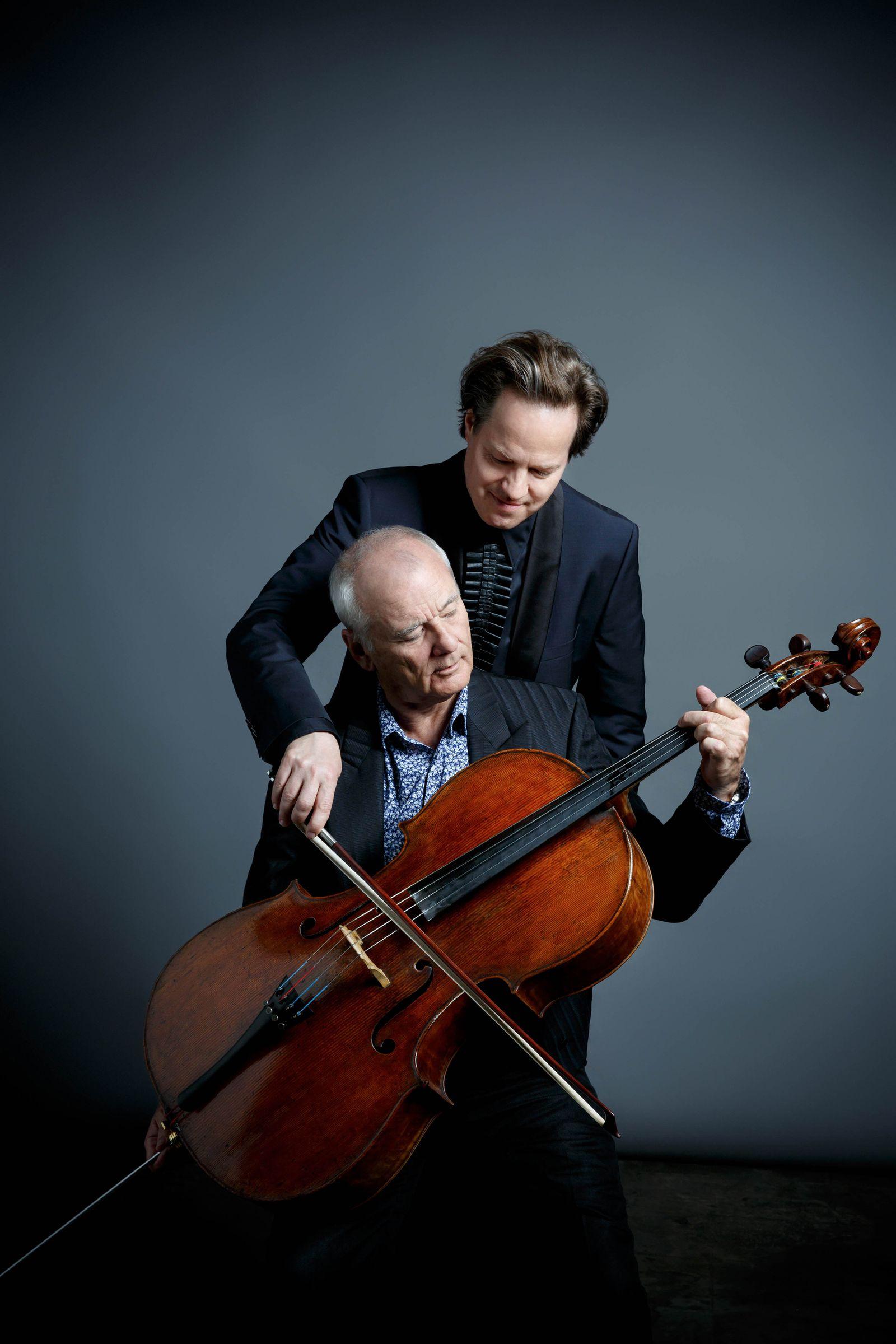 EINMALIGE VERWENDUNG Klassik/ Bill Murray & Jan Vogler