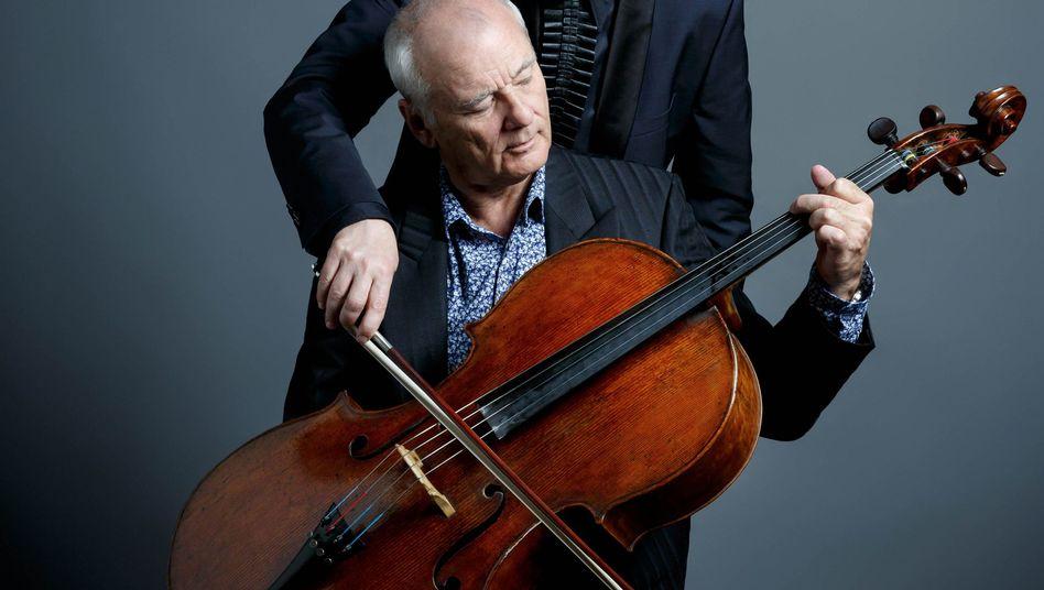 Bill Murray, Jan Vogler und ein Cello
