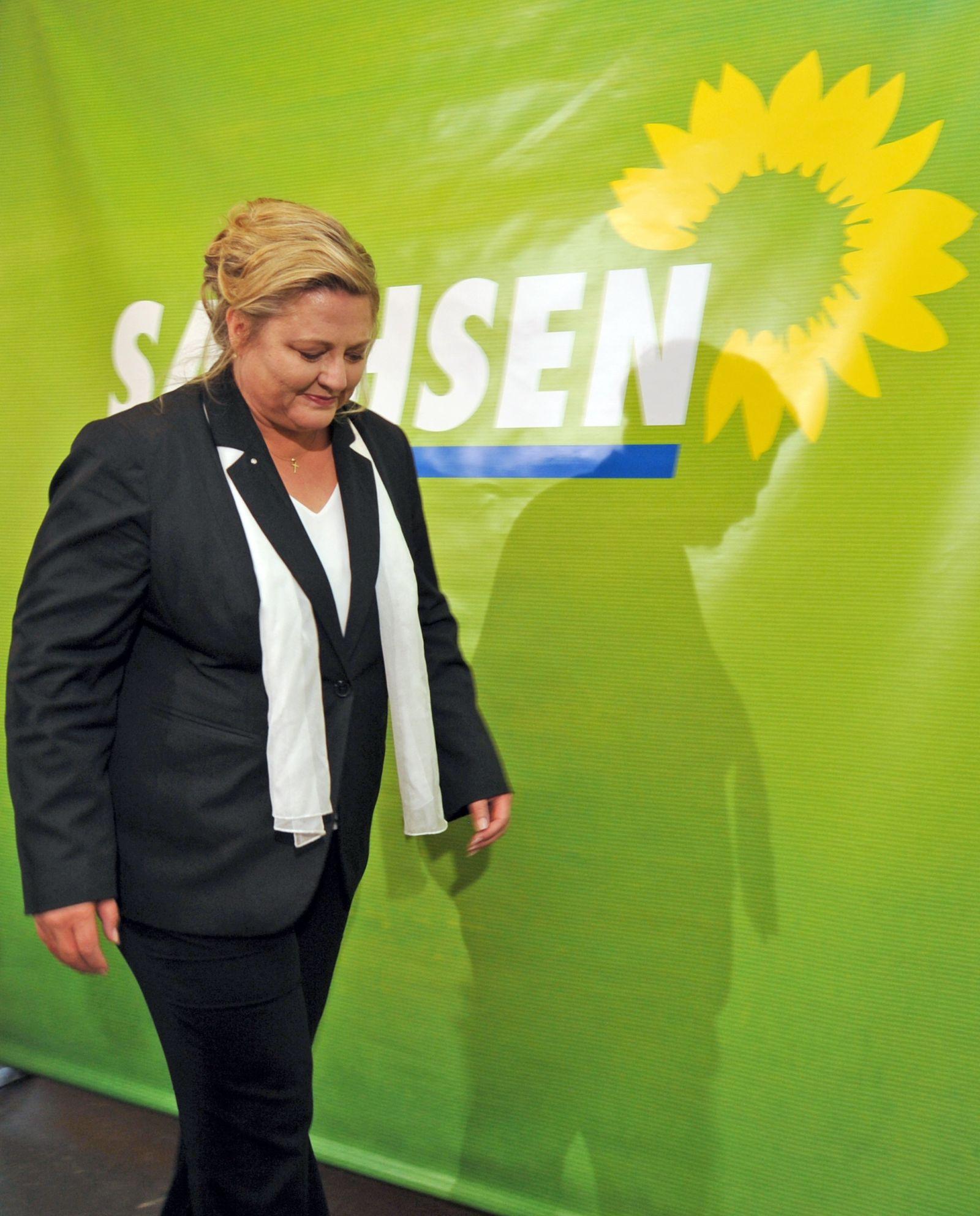 Landtagswahl Sachsen/ antje hermenau