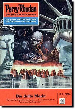 """Erster """"Perry Rhodan""""-Band von Darlton (Heft 2): Träumereien eines Kriegsheimkehrers"""