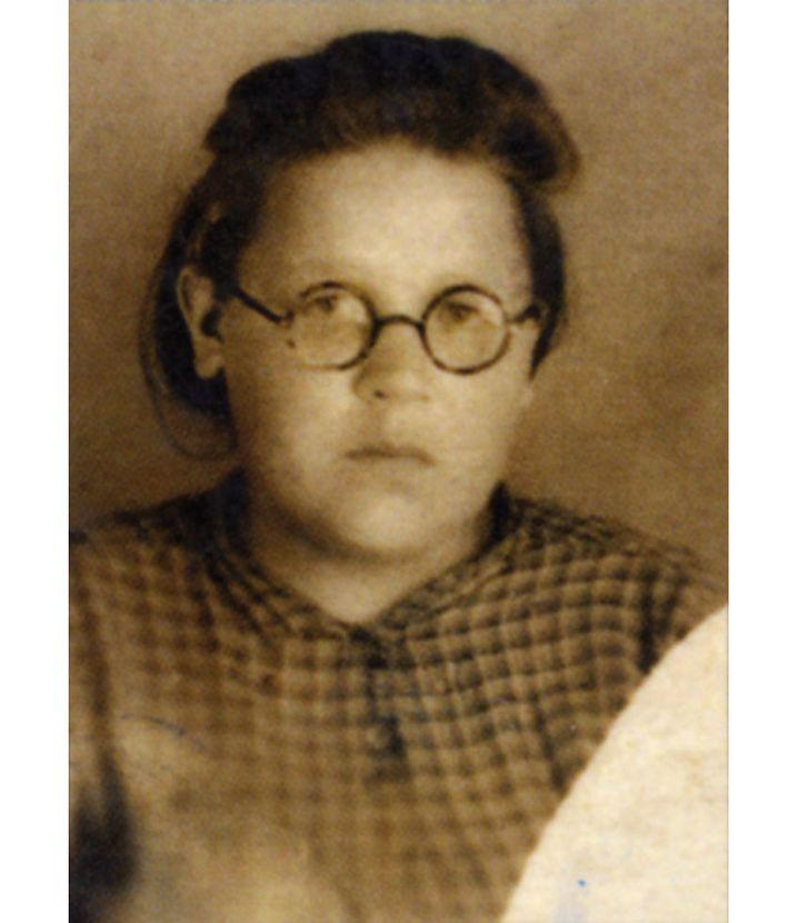 Schülerin Lena Muchina