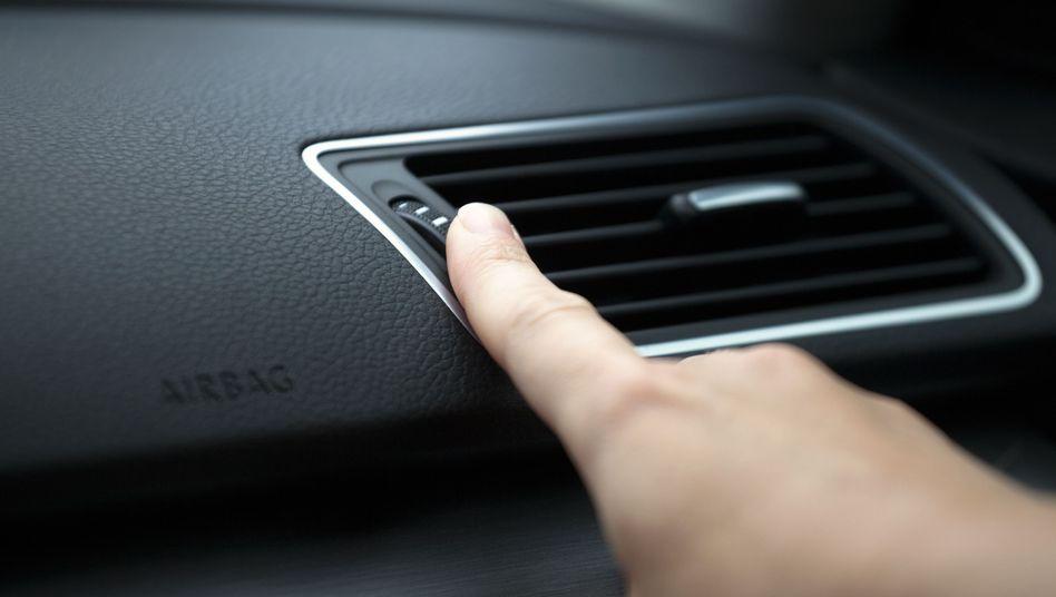 Lüftung im Auto