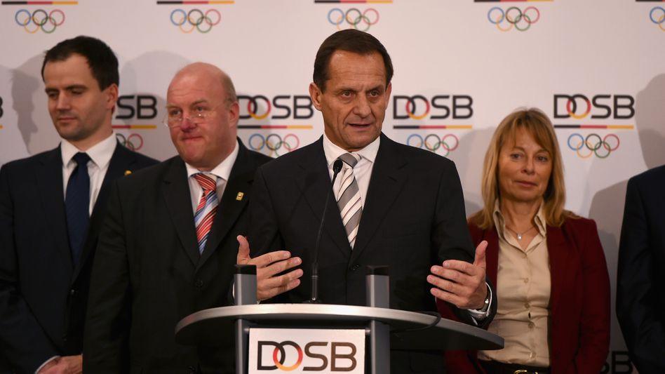 """DOSB-Präsident Hörmann: """"Einmütige Entscheidung"""""""