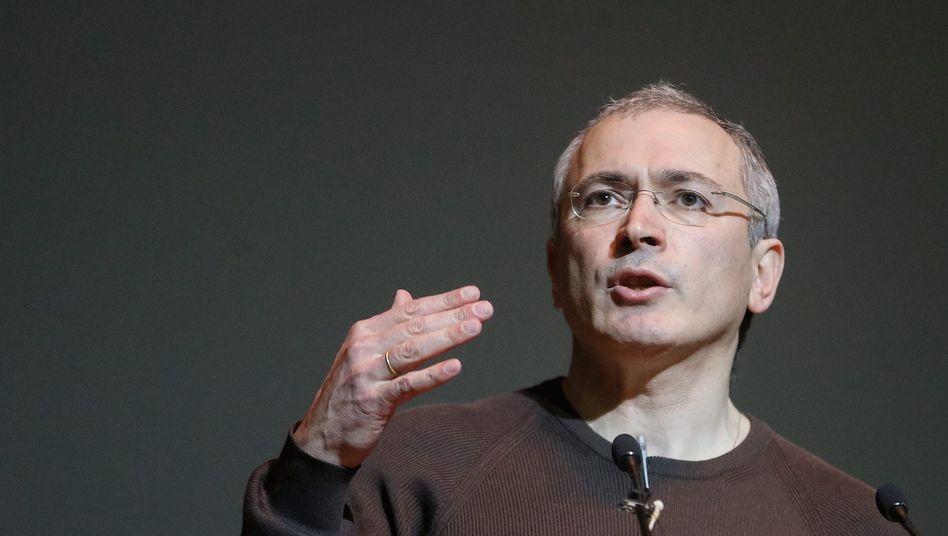Chodorkowski: Stiftung im Visier der Justiz
