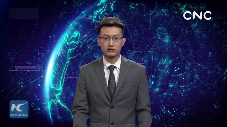 Virtueller Nachrichtensprecher