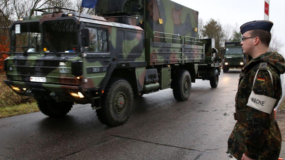 """Konvoi mit """"Patriot""""-Raketenabwehrstaffeln: Türkei-Einsatz wird vorbereitet"""