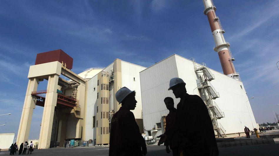 Umstrittener Atommeiler Buschehr: Iran pocht auf das Recht zur Urananreicherung