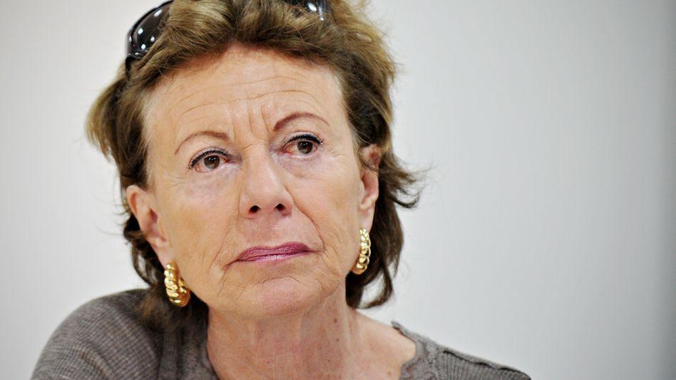 Neelie Kroes: Laut EU-Kommission ist die chinesische Internetzensur ein Handelshemmnis