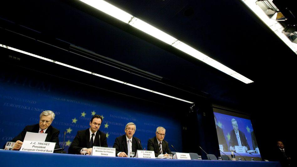 110-Milliarden-Euro-Hilfspaket: Griechen-Retter kaufen sich Zeit