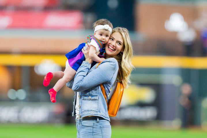 Für ihre Tochter Genevieve änderte Kate Upton ihre Gewohnheiten