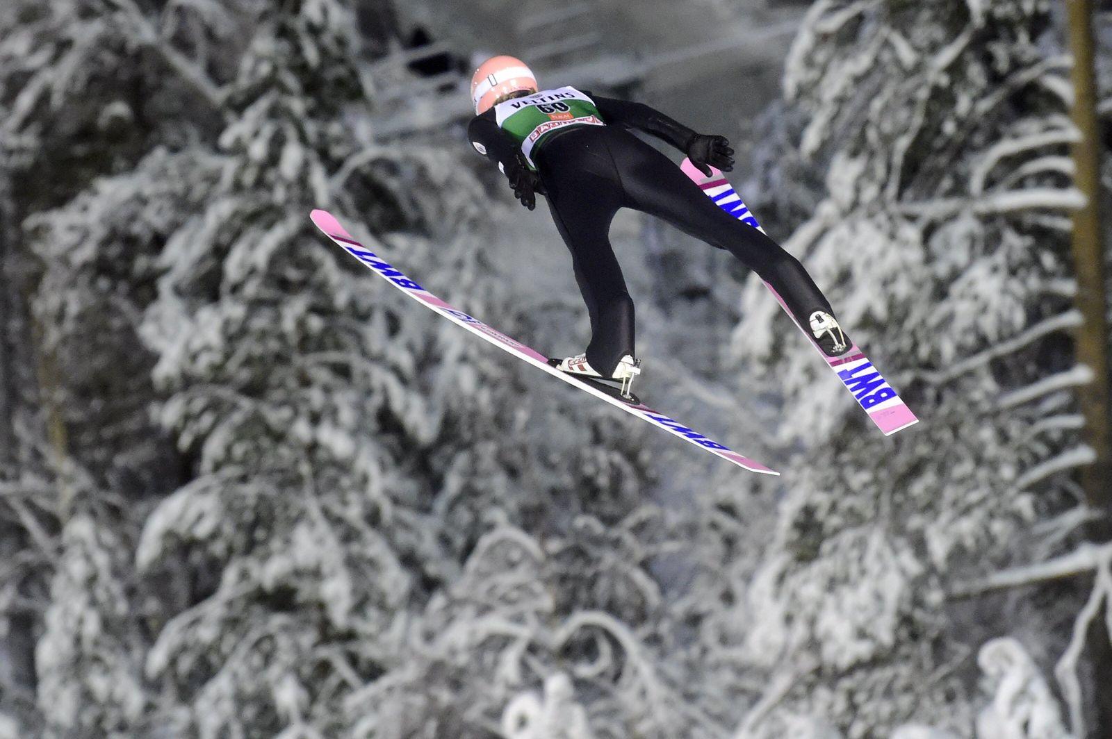 Skispringen Weltcup in Kuusamo