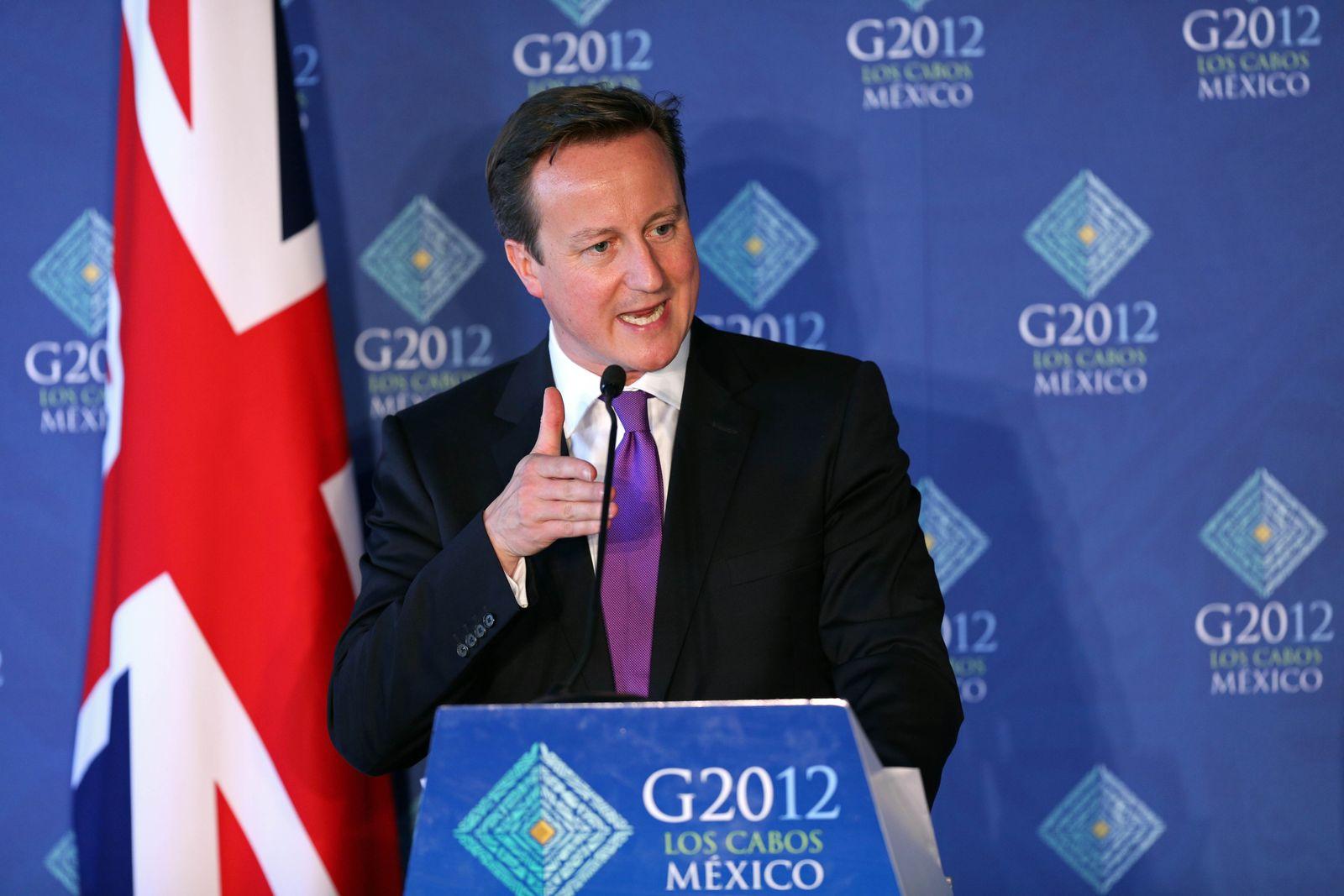 David Cameron / G20