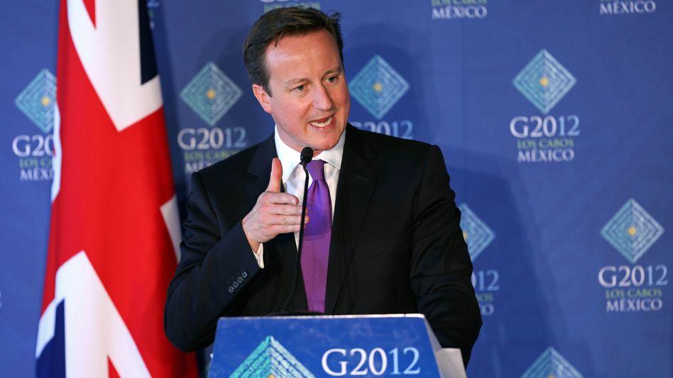 Großbritanniens Premier Cameron: Gipfel der Giftpfeile