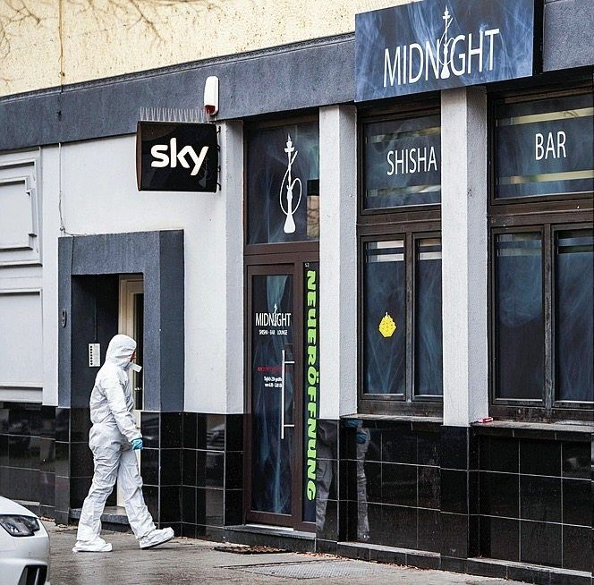 The shisha bar Midnight was one of the site's of Wednesday night's massacre.