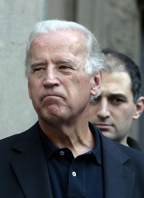 Democratic US Senator Joe Biden
