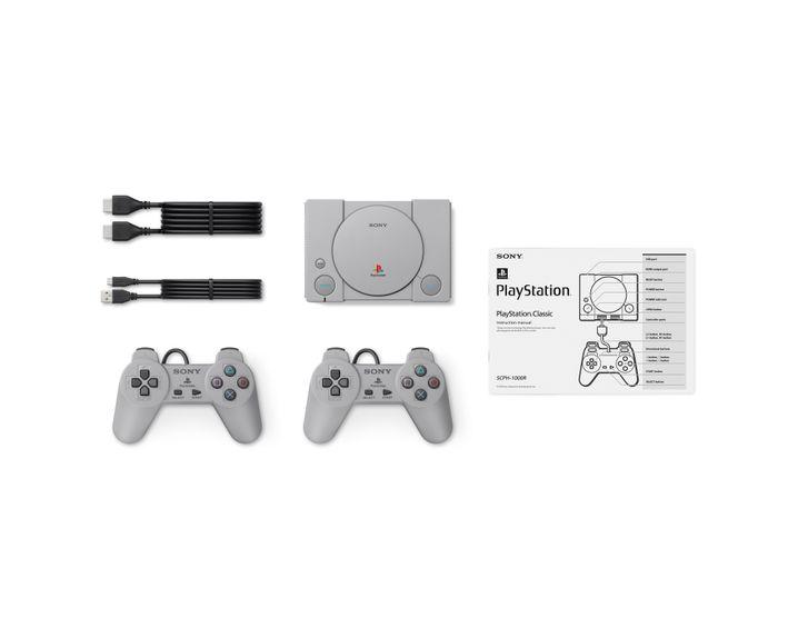 Playstation Classic mit Zubehör
