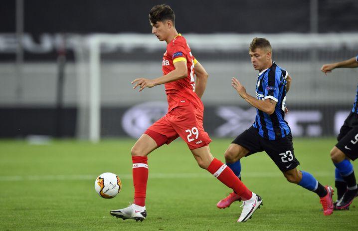 Kai Havertz war erneut Leverkusens gefährlichster Offensivspieler