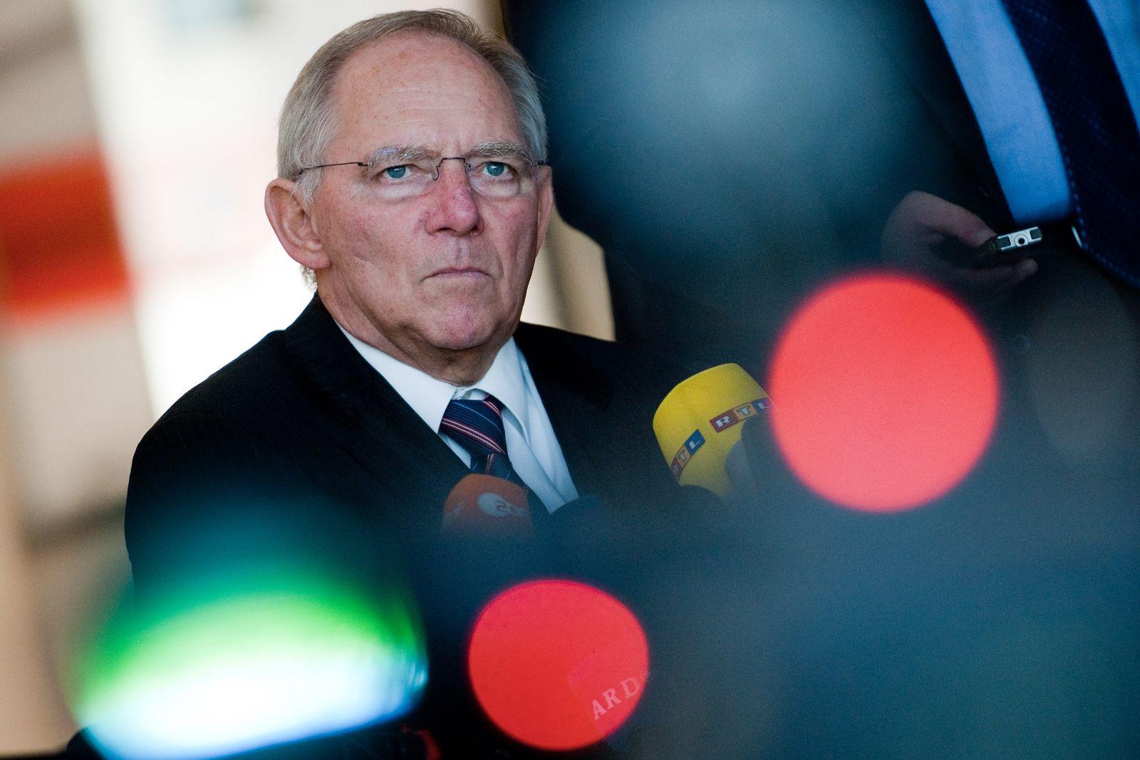 Steuerabkommen/ Deutschland-Schweiz/ Schäuble