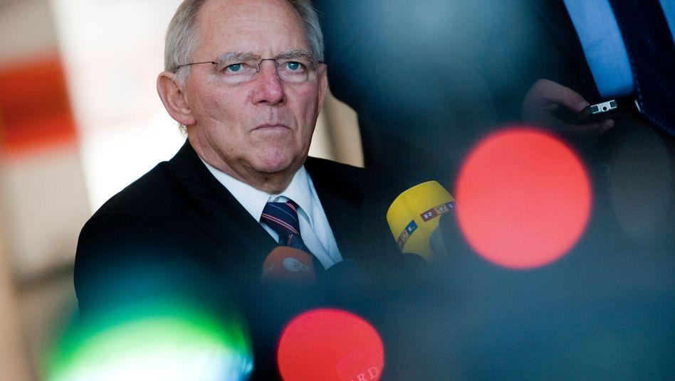 Minister Schäuble im Kabinett: Wie viel Familiensplitting ist bezahlbar?