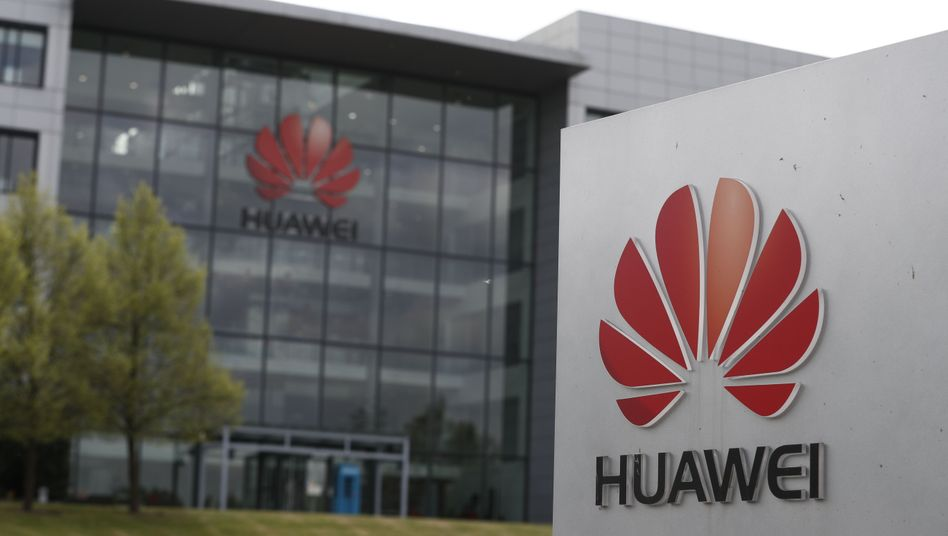 Huawei-Niederlassung in Reading westlich von London