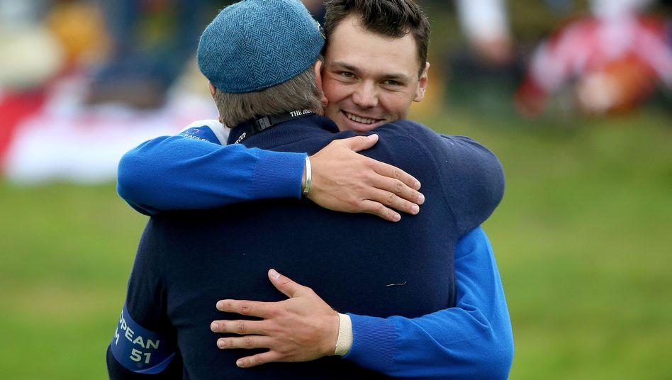 Golfer Kaymer: Sieg im Einzel gegen Bubba Watson
