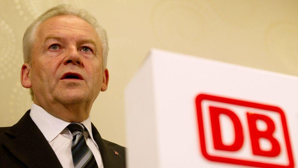 """Bahn-Chef Grube: """"Mehdorn in nett"""""""