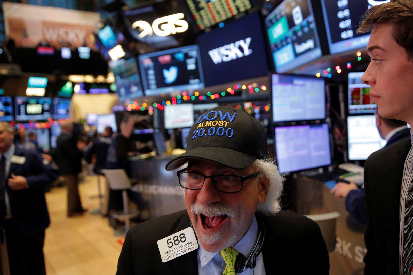 Börse New York / Dow Jones 20000 / NYSE