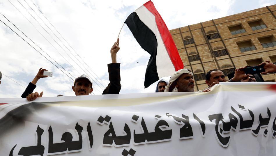 Proteste in Jemens Hauptstadt Sanaa: Huthi-Rebellen haben die Stadt besetzt