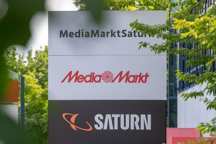 Der Hauptsitz von MediaMarktSaturn in Ingolstadt