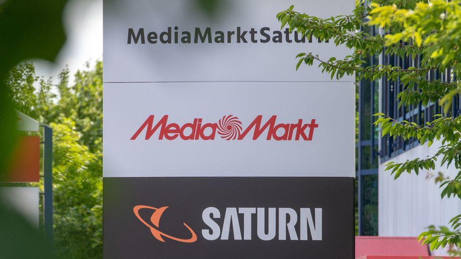 Firmenzentrale der MediaMarktSaturn-Gruppe in Ingolstadt