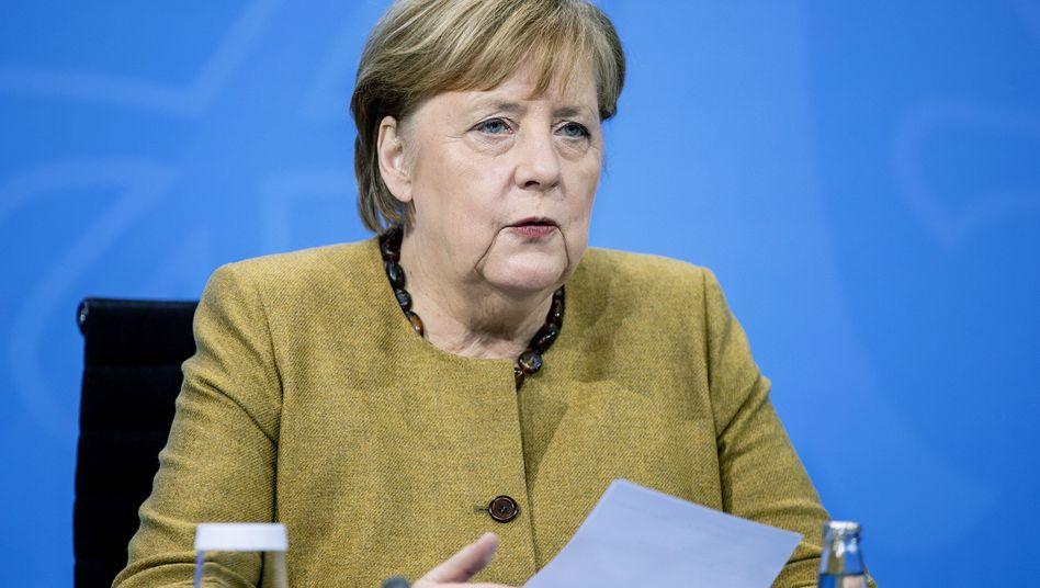 Kanzlerin Merkel (Archivfoto)