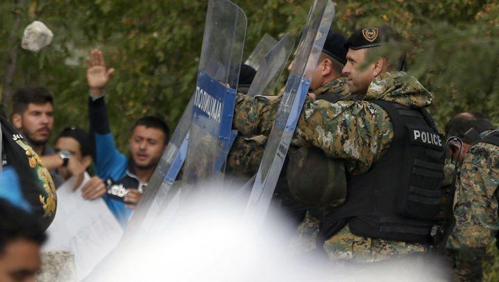 Mazedonien: Eskalation im Grenzgebiet