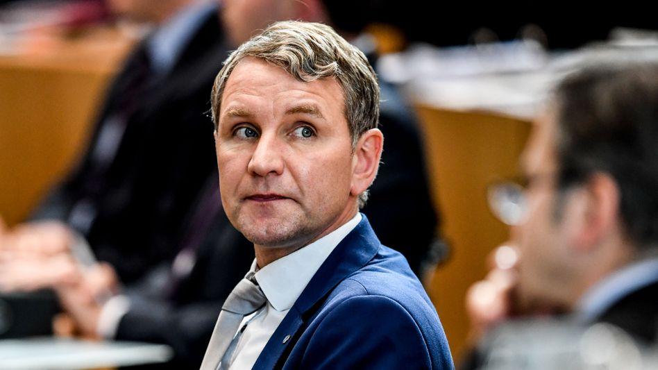 Thüringens AfD-Chef Björn Höcke